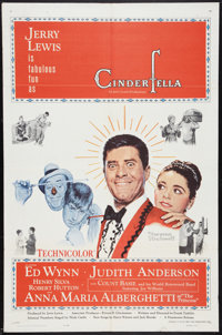 "Cinderfella Lot (Paramount, 1960). One Sheets (2) (27"" X 41""). Comedy. ... (Total: 2 Items)"