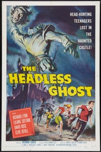 "The Headless Ghost (American International, 1959). One Sheet (27"" X 41""). Horror"