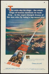 "High Flight Lot (Columbia, 1957). One Sheets (2) (27"" X 41""). Adventure. ... (Total: 2 Items)"