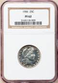 Proof Barber Quarters: , 1906 25C PR62 NGC. NGC Census: (13/174). PCGS Population (33/168). Mintage: 675. Numismedia Wsl. Price for problem free NGC...