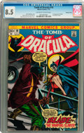 Bronze Age (1970-1979):Horror, Tomb of Dracula #10 Western Penn pedigree (Marvel, 1973) CGC VF+8.5 Off-white to white pages....