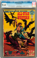 Bronze Age (1970-1979):Western, All-Star Western #11 (DC, 1972) CGC NM 9.4 Off-white to white pages....