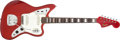 Musical Instruments:Electric Guitars, 1965 Fender Jaguar Refinished Candy Apple Red Electric Guitar #L19968....