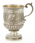 Silver Holloware, British:Holloware, A J. HALL & CO. SILVER AND SILVER GILT GOLFING CUP . Glasgow,Scotland, circa 1924-1925. Marks: (lion rampant), (tree, fish ...