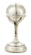Silver Smalls:Other , A F. FATTORININI & SON LTD. SILVER GOLF BALL HOLDER/TROPHY .Birmingham, England, circa 1933-1934. Marks: (lion passant), (a...
