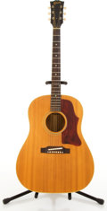 Musical Instruments:Electric Guitars, 1960's Gibson J-50ADJ Natural Acoustic Guitar #430703....