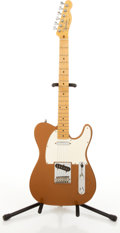 Musical Instruments:Electric Guitars, Circa 1980's Fender Telecaster Copper Electric Guitar # N/A....