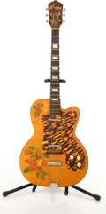 Musical Instruments:Electric Guitars, Vintage Kay Natural Electric Guitar # N/A....