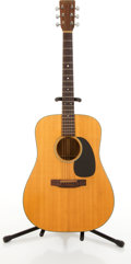 Musical Instruments:Acoustic Guitars, 1980 Martin & Co. D-18 Natutral Acoustic Guitar #422791....