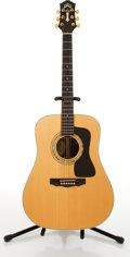 Musical Instruments:Acoustic Guitars, 1995 Guild DV52 Natural Acoustic Guitar #AD520930....