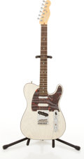 Musical Instruments:Electric Guitars, 1998-99 Fender American Telecaster Transparent White ElectricGuitar #DN805029....
