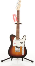 Musical Instruments:Electric Guitars, 2006/7 Fender American Telecaster 60th Diamond Anniversary SunburstElectric Guitar #Z6134923....