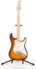 Musical Instruments:Electric Guitars, 1996 G & L Legacy Stratocaster Copy Sunburst Electric Guitar#49160...