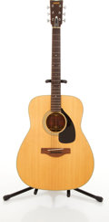 Musical Instruments:Acoustic Guitars, Vintage Yamaha FG-180 Natural Acoustic Guitar #862582....