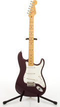 Musical Instruments:Electric Guitars, 1998/99 Fender American Stratocaster Purple Electric Guitar#N8357668....