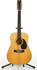 Musical Instruments:Acoustic Guitars, Fender F-5 Natural 12-String Acoustic Guitar #F093432....