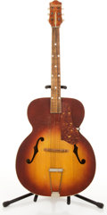 Musical Instruments:Acoustic Guitars, Vintage Sherwood Red Burst Archtop Acoustic Guitar # N/A....