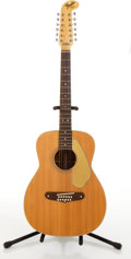 Musical Instruments:Acoustic Guitars, Fender American Villager Natural 12 String Acoustic Guitar#24499....