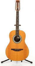 Musical Instruments:Acoustic Guitars, Ovation 1115-4 Natural 12-String Acoustic Guitar #069316....