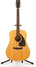 Musical Instruments:Acoustic Guitars, Aria 6710 Natural Acoustic Guitar #1136 40....