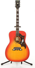 Musical Instruments:Acoustic Guitars, Vintage Aspen DH-32 Dove Sunburst Acoustic Guitar #32750181....