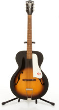Musical Instruments:Acoustic Guitars, Vintage Kay Sunburst Archtop Acoustic Guitar # N/A....