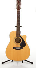 Musical Instruments:Acoustic Guitars, Yamaha FG-4111CE-12 Natural Electric Acoustic Guitar #60823299....