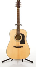 Musical Instruments:Acoustic Guitars, Washburn D-10 Natural Acoustic Guitar #98060213....
