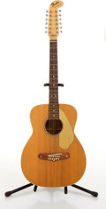 Musical Instruments:Acoustic Guitars, Fender American Villager 12-String Natural Electric Guitar#268975....