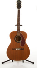 Musical Instruments:Acoustic Guitars, Circa 1970's Fender F-60 Walnut Acoustic Guitar #4292 1030....