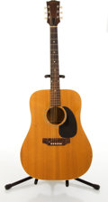 Musical Instruments:Acoustic Guitars, Late 1960's Gibson J-50 Natural Acoustic Guitar #88576....