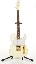 Musical Instruments:Electric Guitars, 1995 Fender Telecaster Custom Lime-Yellow Electric Guitar#T022654....