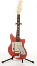 Musical Instruments:Electric Guitars, Vintage Guyatone Red Electric Guitar #N/A....