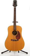 Musical Instruments:Acoustic Guitars, Circa 1975 Epiphone FT-147 Flat Top Natural Acoustic Guitar #72065036....