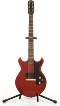 Musical Instruments:Electric Guitars, 1965 Gibson Melody Maker Cherry Electric Guitar #274514....