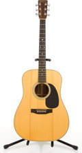 Musical Instruments:Acoustic Guitars, Martin H D-28 Natural Acoustic Guitar #448852....