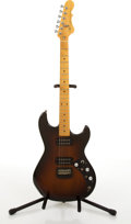 Musical Instruments:Electric Guitars, Modern G & L F-100 Sunburst Electric Guitar # N/A....