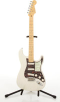 Musical Instruments:Electric Guitars, 2000/1 Fender American Stratocaster Deluxe Blonde Electric Guitar#Z0052346....