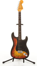 Musical Instruments:Electric Guitars, 1978 Fender American Stratocaster Sunburst Electric Guitar#S780915....