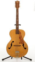 Musical Instruments:Acoustic Guitars, Vintage Kay Natural Archtop Acoustic Guitar # N/A....