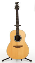 Musical Instruments:Acoustic Guitars, Ovation Matrix 1132 Natural Acoustic Guitar # 204353....