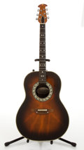 Musical Instruments:Acoustic Guitars, Ovation 1612-1 Sunburst Electric Acoustic Guitar # 045700....