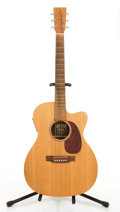 Musical Instruments:Acoustic Guitars, Martin OMCX1KE Spruce Electric Acoustic Guitar #1261609....