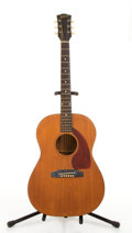 Musical Instruments:Acoustic Guitars, 1960's Gibson LG-O Natural Acoustic Guitar #158334...