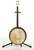 Musical Instruments:Electric Guitars, Vintage Tenor Banjo # N/A....