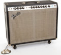 Musical Instruments:Amplifiers, PA, & Effects, Circa 1975 Fender Twin Reverb Amplifier #B07202....