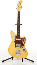 Musical Instruments:Electric Guitars, Circa 1965 Fender American Jaguar Olympic White Electric Guitar#L85487....