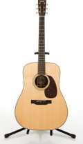Musical Instruments:Acoustic Guitars, Circa 2009 Collings D2H Natural Acoustic Guitar #16419....