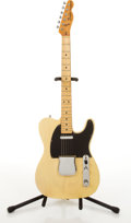 Musical Instruments:Electric Guitars, 1977/78 Fender American Telecaster Blonde Electric Guitar#S729821....