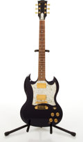 Musical Instruments:Electric Guitars, 1997 Gibson SG Limited Edition Midnight Blue Electric Guitar #92937673....
